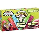 WARHEADS Extreme Sour 10 Freezer Pops 3 Boxes Freeze and Eat Treat Frozen Popsicles