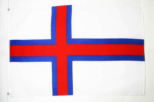 FAROE ISLANDS FLAG 3' x 5' - DENMARK - FAROESE FLAGS 90 x 150 cm - BANNER 3x5 ft - AZ FLAG