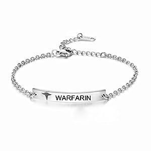 BABYSIS Medical Alert Bracelet -First Alert Bracelet- Personalized Medical ID Bracelet and Child ID For Women