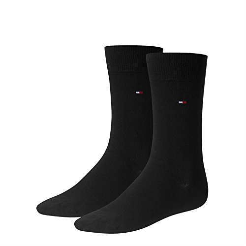 Tommy Hilfiger Men's Athletic Socks Multi-coloured Multi-Coloured - multicoloured - Black - 9