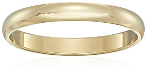 Classic Fit 10K Gold Wedding B