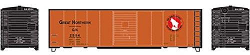 - Athearn HO 40' Box Car Single Door GN Express #2504