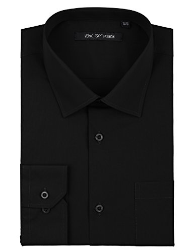 - Verno Luxton MensFashion(Classic) Fit Long Sleeve Dress Shirt , 16-16 1/2