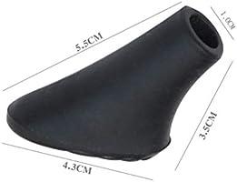 Vosarea Juego de Puntas de Goma de Repuesto para Bastones de Trekking Estilo 6PCS de pies duraderos Resistentes para Bastones de Senderismo//Bastones para Caminar