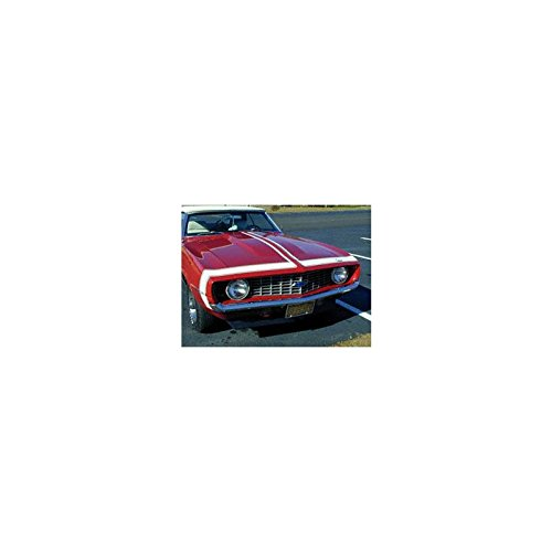 (Eckler's Premier Quality Products 33-179451 Camaro Bumble Bee Vinyl Stripe Set, Super Sport (SS), Red,)