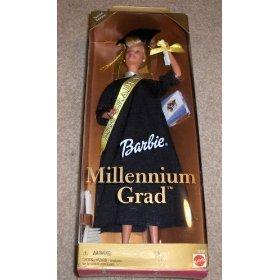 2000 Millennium Grad Barbie Doll -