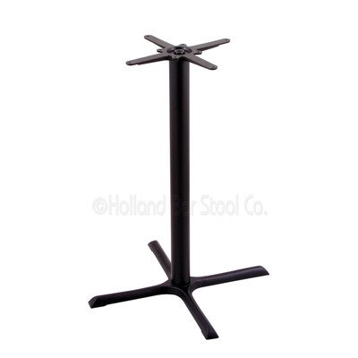 211-30 Black Table Base by Holland Bar Stool Co.