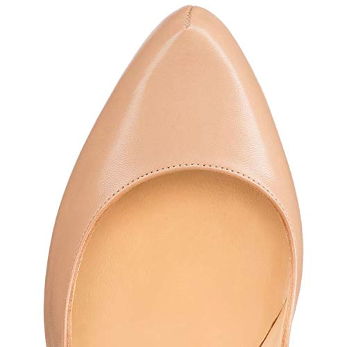 Court Sandal Beige Heels Pan 16cm Women High Shoes Caitlin Block Platform Pumps Heel w6vS6q