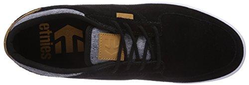 Etnies HITCH - Zapatillas De Skate de cuero hombre negro - Schwarz (BLACK/WHITE/GUM/979)
