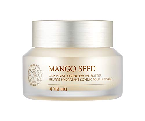 ([THEFACESHOP] Mango Seed Silk Mositurizing Facial Butter For Dry Skin, 50mL/1.69Oz)