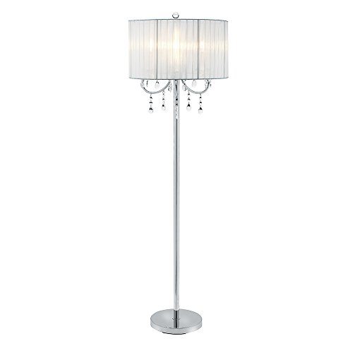 Shade Floor Acrylic Lamp (Catalina 19520-003 Glam 58