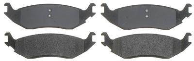RM Brakes SGD967M Service Grade Semi-Metallic Brake Pad