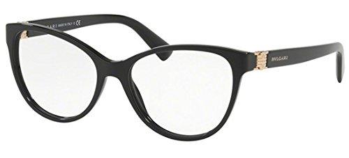 Bvlgari Women's BV4151 Eyeglasses Black 54mm