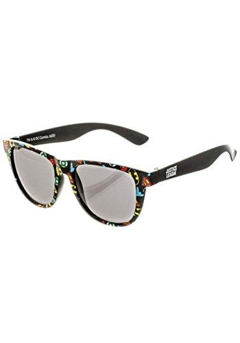 BIOWORLD DC Comics All Over Print Logo Sunglasses with Soft - Logos Company Sunglass
