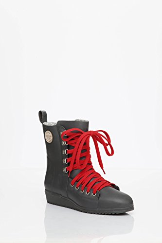 Julia Originals LU120 en Lace Up Footwear Gris caoutchouc Bottes Lundsten by Nokian Oq1wxn6C