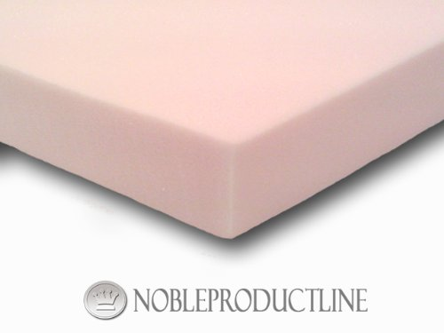 2″ Thick 5.3lb Visco Elastic Memory Foam Mattress Topper ...