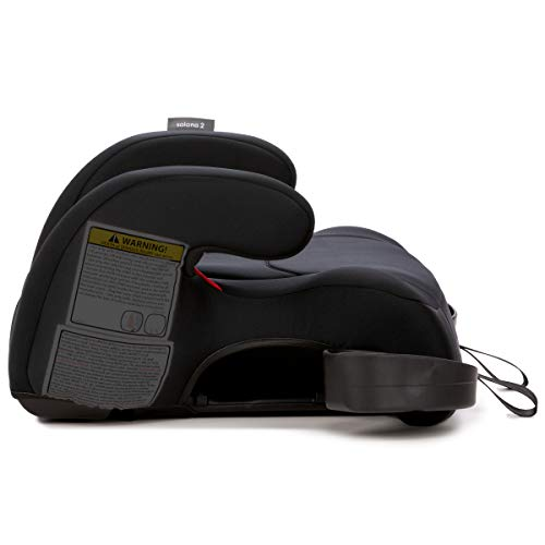 31On9fyV0BL - Diono Solana 2 Latch, XL Space Backless Booster Seat, | Lightweight Backless Booster With Room To Grow, 8 Years 1 Booster Seat, Black