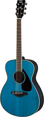 Yamaha FS820 Small Body Solid Top Acoustic Guitar, Turquoise