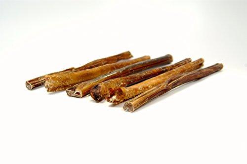 Top Dog Chews 12 Bully Sticks – USDA FDA Approved Free Range Regular 12