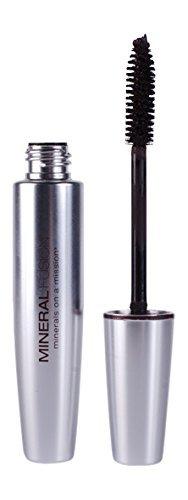Mineral Fusion Volumizing Mascara, Jet, .57 Ounce