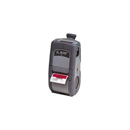 (Zebra QL 220 Mobile Thermal Label Printer - Direct Thermal / Thermal Transfer Printer)