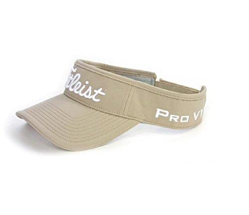 - Titleist Tour Performance Visor 2016 Cap (Khaki),One Size