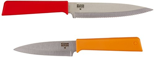 Kuhn Rikon Color Plus Classic Fruit and Veggie Set, Red/Orange by Kuhn Rikon