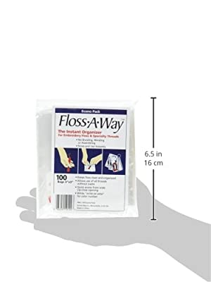 "ACTION BAG Floss-A-Way Organizer-3""X5"" 100/Pkg by ACTION BAG"