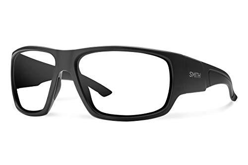 Smith Dragstrip Elite Sunglasses Black/Clear & Carekit ()