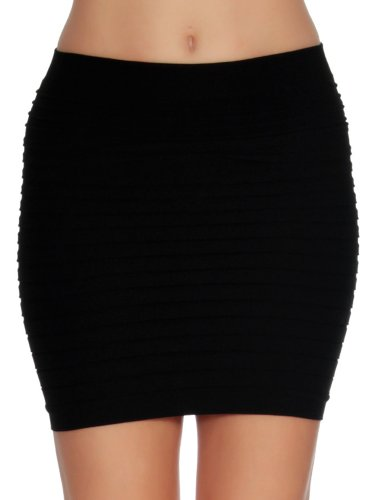 Simplicity Sexy Slim Slip On Ladies Mini Pencil Tube - Skirt Mini Pencil