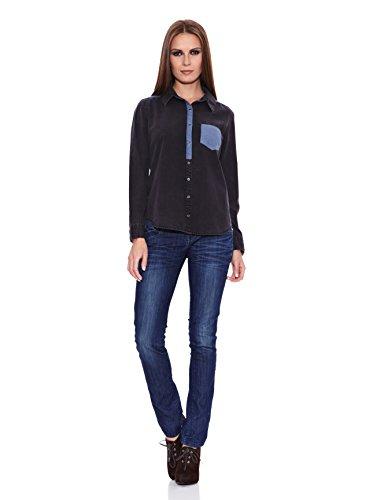 Janis Camisa Mujer  Negro M