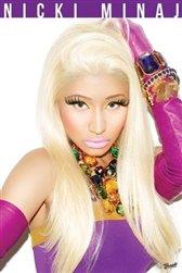 Nicki Minaj Pink Lips Hip Hop Music Poster