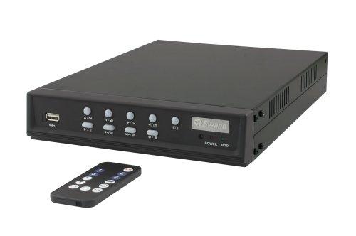 160 4 Channel Dvr - Swann SW242-DU2 DVR4-1000 - 4 Channel DVR with 160GB Hard Drive Digital Video Recorder