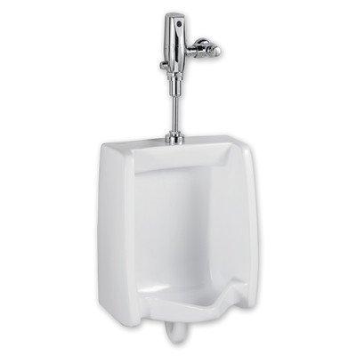 American Standard 6501.610.020 Washbrook Top Spud Urinal with 1.0 Gpf Selectronic Flush Valve