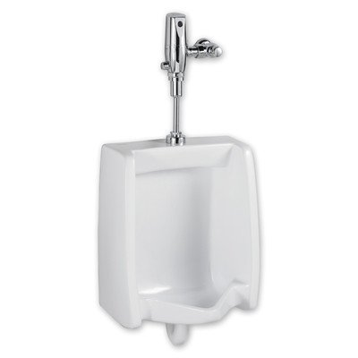 American Standard 6501.610.020 Washbrook Top Spud Urinal with 1.0 Gpf Selectronic Flush Valve ()