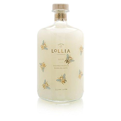 Lollia Wish No. 22 Sugared Pastille 33.8 oz Bubbling Bath (1 - No 22 Sugared Wish Lollia