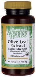 Olive Leaf Extract Super Strength 750 mg 240 Capsules