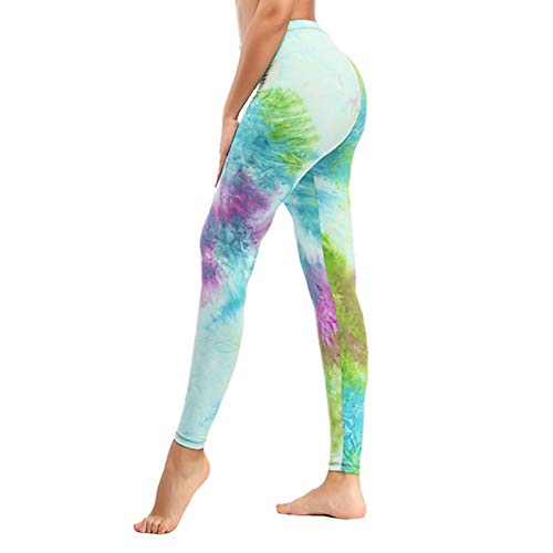 Soft Printed Leggins for Women - One/Plus Size High Waisted Buttery Spandex Pants (Plus Size, Melange Mineral ()