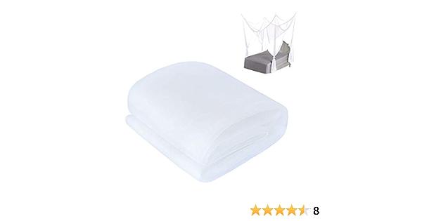 Paperllong/® Outdoor Sommer Runde Spitze Insekt Bett Baldachin Netz Vorhang Polyester Mesh Stoff Heimtextil Elegant Hung Dome Moskitonetz