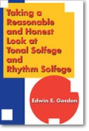 Download Taking a Reasonable and Honest Look at Tonal Solfege and Rhythm Solfege/G7452 pdf