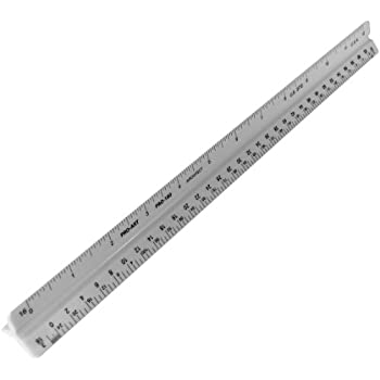 Pro Art 12-Inch Architectural Triangular Scale