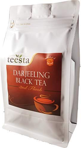 TEESTA - Darjeeling Second Flush Black Tea Leaves | 7.06oz / 200gm | Loose Leaf Tea from Single Estate | High Energy Teas & Strong ()