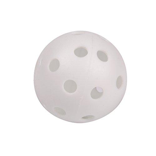 Andux 100 Golf Plastic Practice Balls White KXQ by Andux (Image #2)