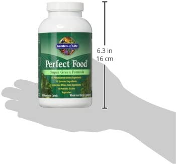 Garden of Life Whole Food Vegetable Supplement - Perfect Food Green Superfood Dietary Supplement, 300 Vegetarian Caplets 11