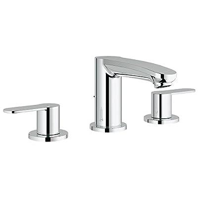 Eurostyle Cosmopolitan 8 in. Widespread 2-Handle 3-Hole Bathroom Faucet