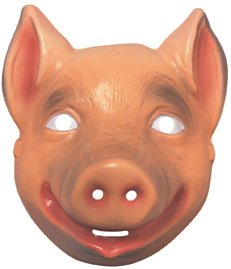 Rubie's Costume Co Animal Mask-Pig Costume, Multicolor]()
