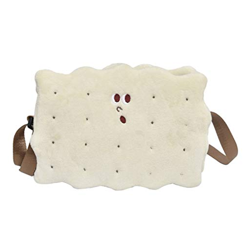 forma Tracolla Tracolla Baoblaze Womens White biscotto a di Winter Ht7HgWF