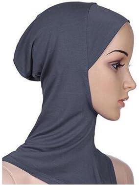 5Five Copricapo Integrale Islamico per Donna Coprispalle a Turbante con Copricapo Cappellino per Cuffia Hijab