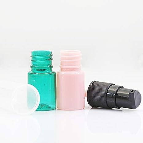 Amazon.com: YyZKO Botella de 5 ml PET de una pieza, pequeña ...