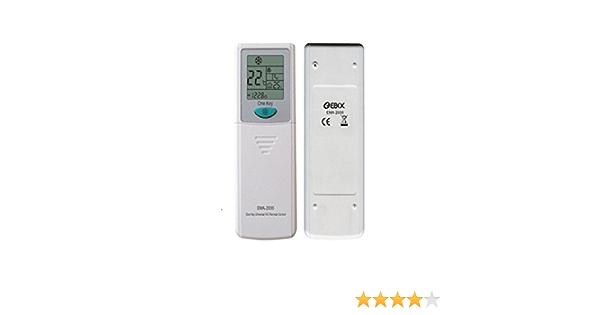 EBOX Ema 2000 . Mando a distancia universal para aire acondicionado 2000 codigos: Amazon.es: Electrónica